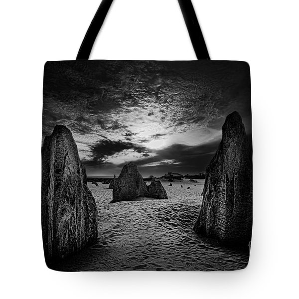 Night Comes Slowly Tote Bag