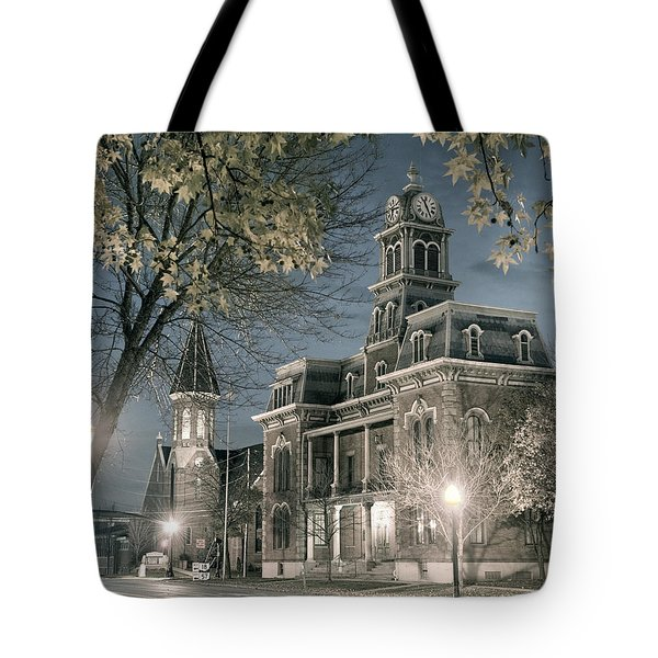 Night Court Tote Bag by William Beuther
