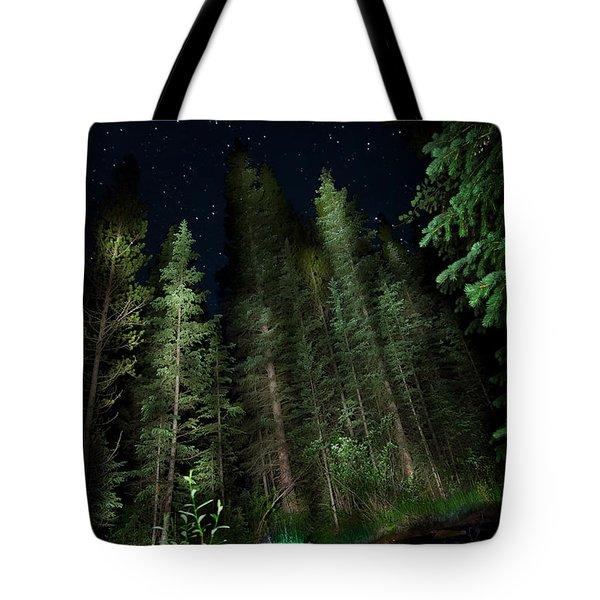 Night Creek Tote Bag