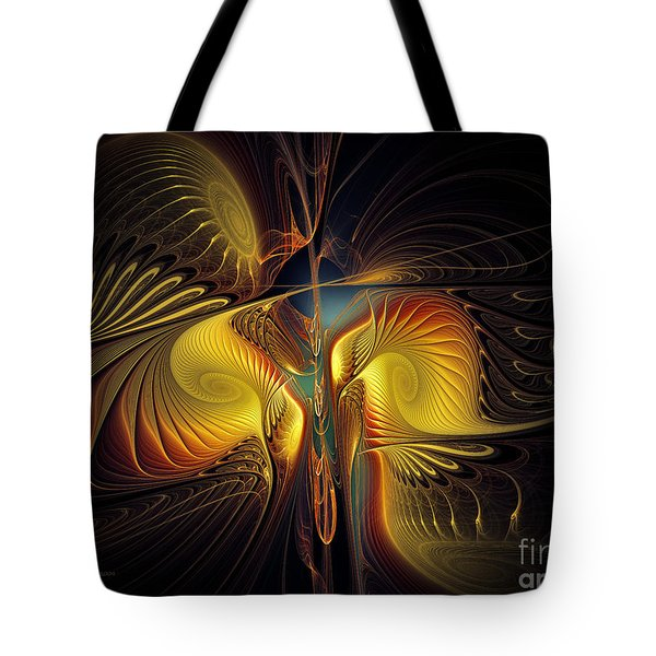 Night Exposure Tote Bag