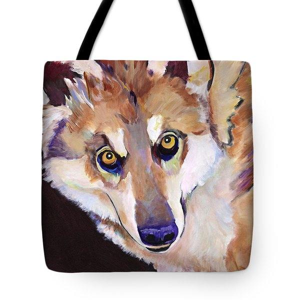 Night Eyes Tote Bag by Pat Saunders-White