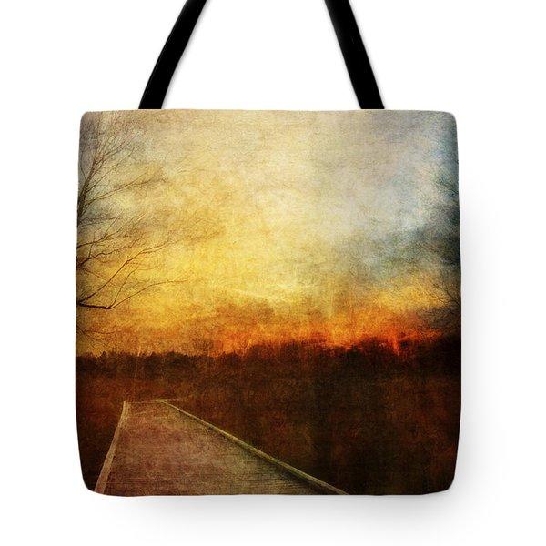 Night Falls Tote Bag