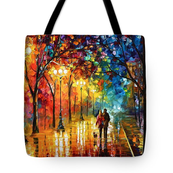 Night Fantasy Tote Bag