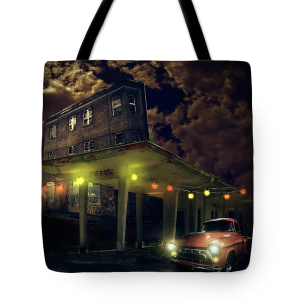 Night Fill Tote Bag by Nathan Wright