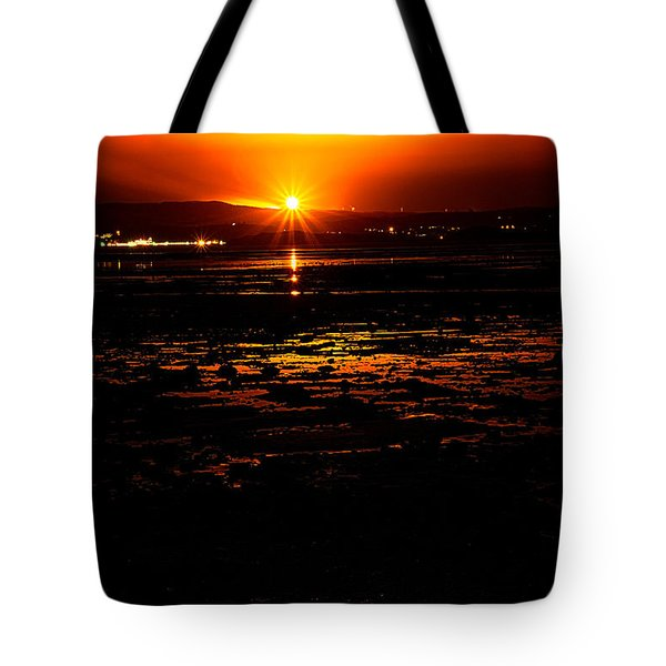Night Flare. Tote Bag