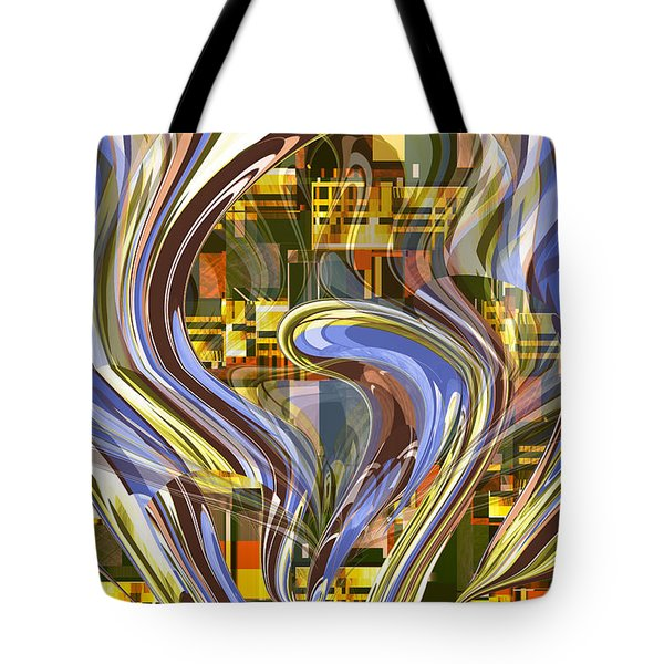 Night Fountain Tote Bag