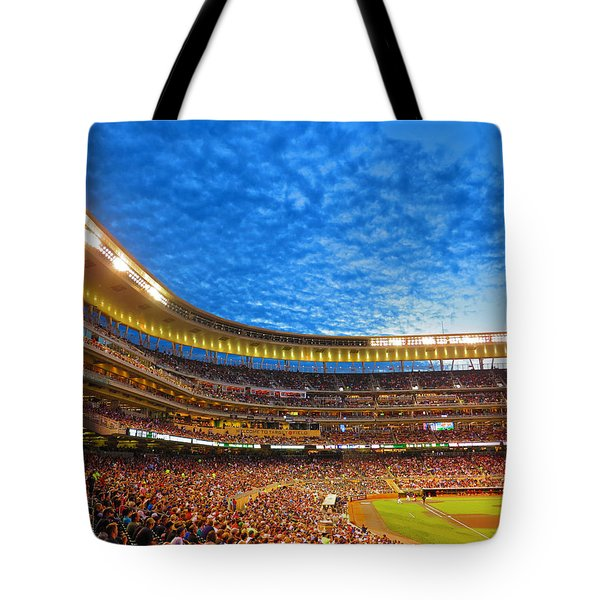 Night Game At Target Field Tote Bag