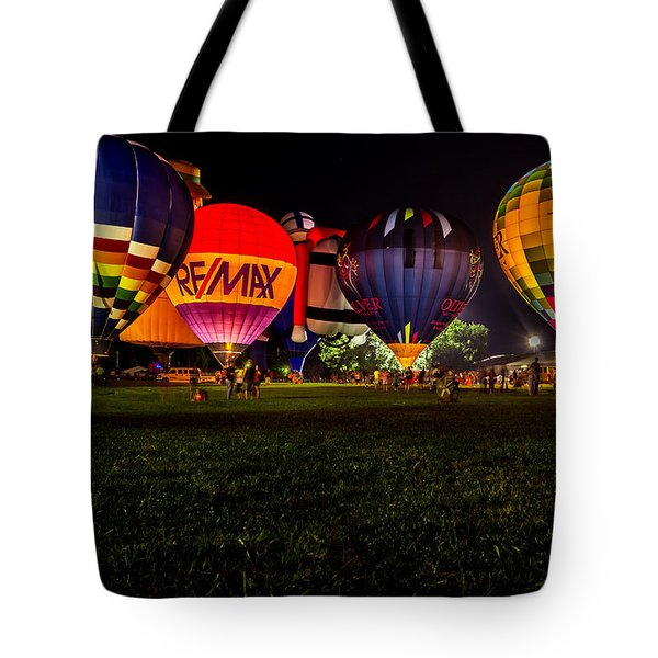 Night Glow Tote Bag