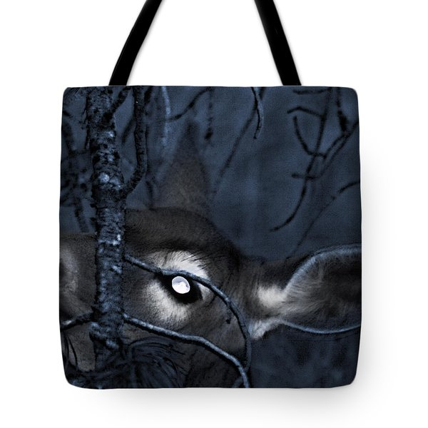 Tote Bag featuring the photograph Night Grazing by Janie Johnson