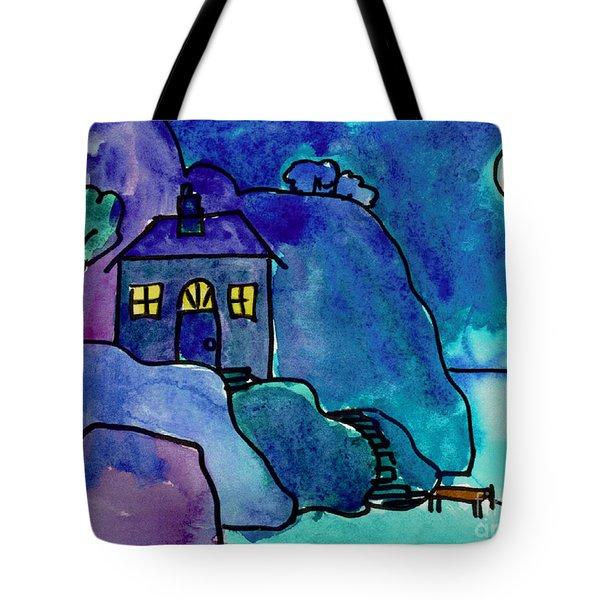 Night Harbor Tote Bag