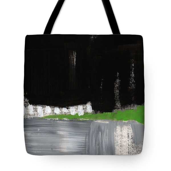 Night Horizon- Abstract Landscapeart Tote Bag