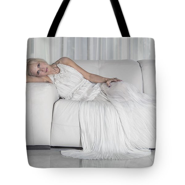 Night In White Satin Tote Bag