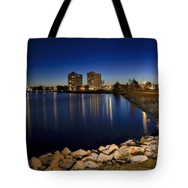 Night Light In Barrie Tote Bag