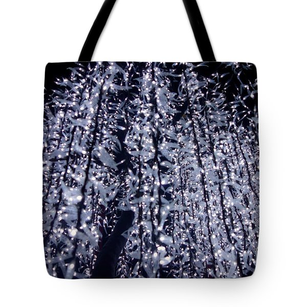 Tote Bag featuring the photograph Night Lights by Jacqueline Athmann