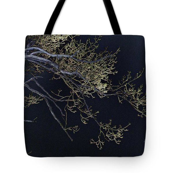 Night Tote Bag by Lois Bryan