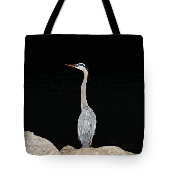 Night Of The Blue Heron 2 Tote Bag
