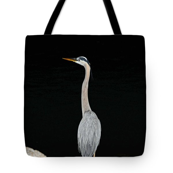 Night Of The Blue Heron 3 Tote Bag