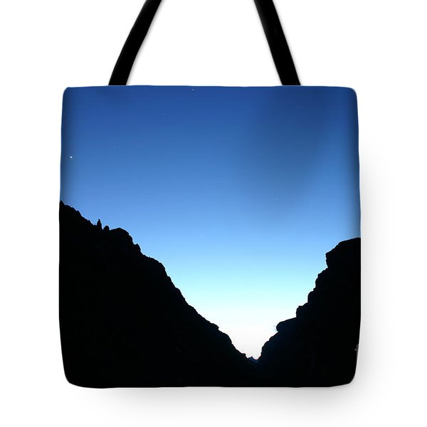 Night On The Grand Tote Bag by Crystal Magee