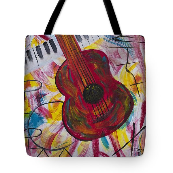 Night Out Tote Bag by Robin Hillman