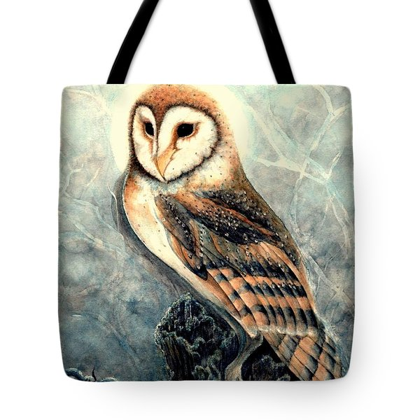 Night Owl Tote Bag by Janine Riley
