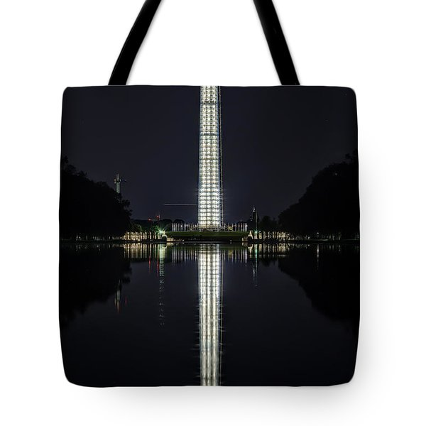 Night Scaffolding Tote Bag