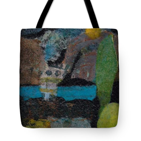 Night Scene Tote Bag by Catherine Redmayne