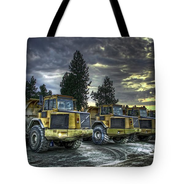 Night Shift Tote Bag by Daniel Hagerman