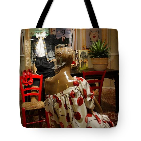 Tote Bag featuring the photograph Cherry Bomb by Natalie Ortiz