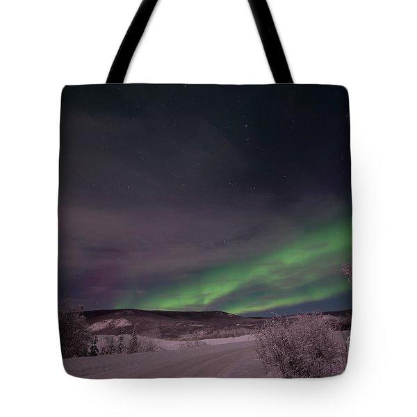Night Skies Tote Bag by Priska Wettstein