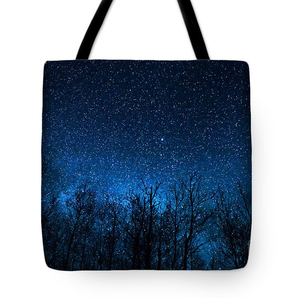 Night Stars Tote Bag