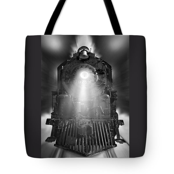 Night Train On The Move Tote Bag