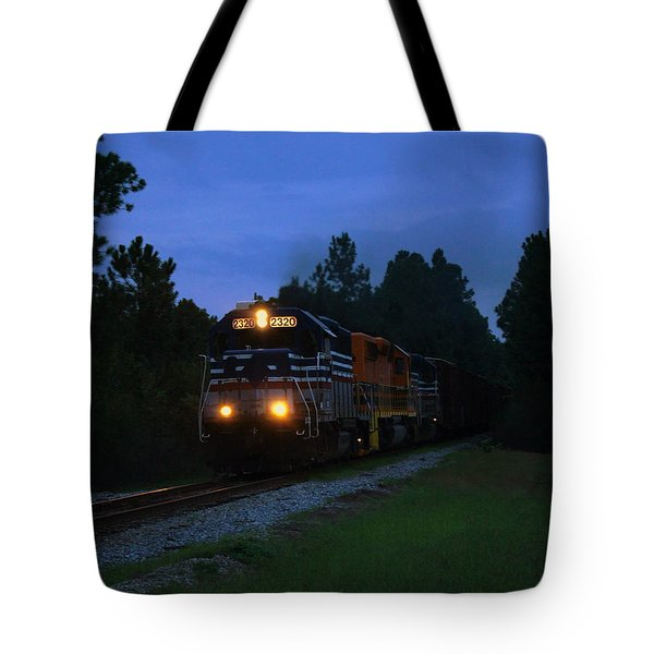 Night Train Tote Bag by Paul  Wilford