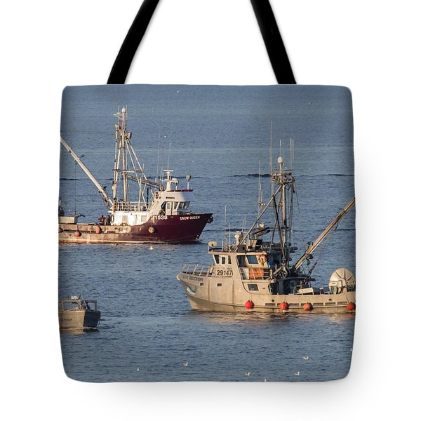 Night Train Tote Bag by Randy Hall