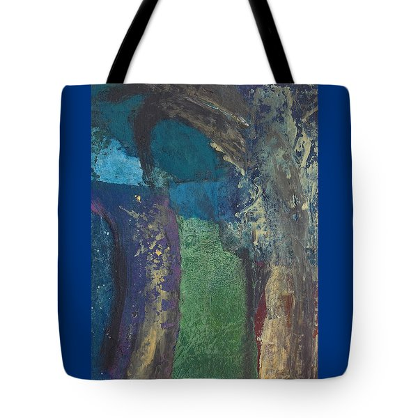 Night Trees Tote Bag by Catherine Redmayne