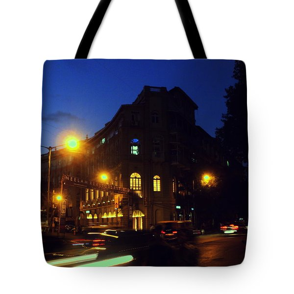 Tote Bag featuring the photograph Night View by Salman Ravish
