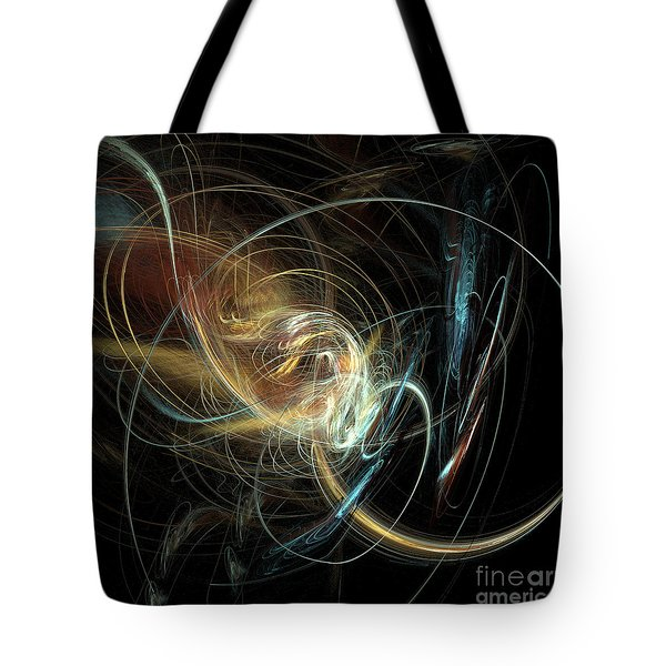 Night Whimsy Tote Bag by Sara  Raber