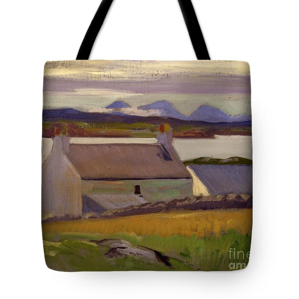 Nightfall  Iona Tote Bag by Francis Campbell Boileau Cadell