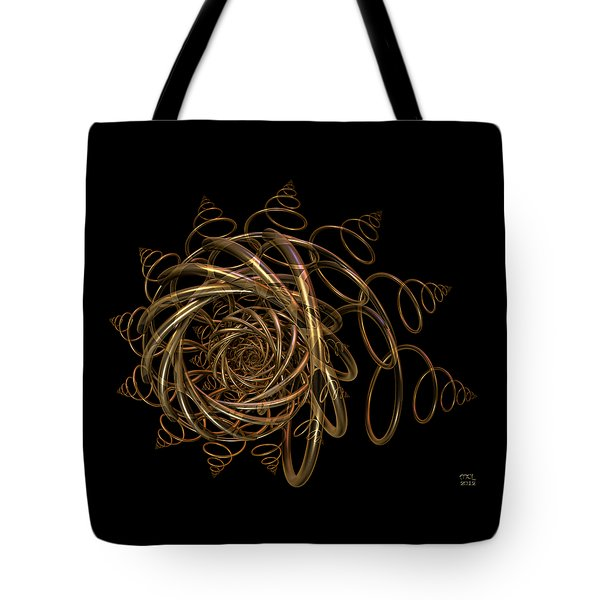 Tote Bag featuring the digital art Nightfall by Manny Lorenzo