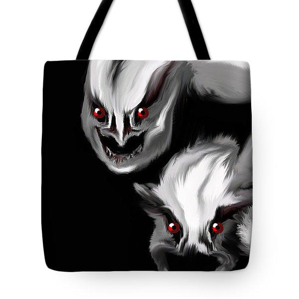 Nightmare Companions Tote Bag