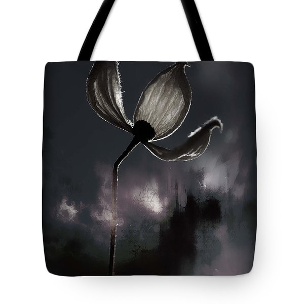 Nights I Wrote  Tote Bag by Jerry Cordeiro