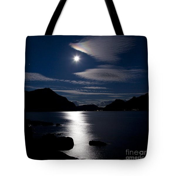 Nights In White Satin Tote Bag by Heiko Koehrer-Wagner