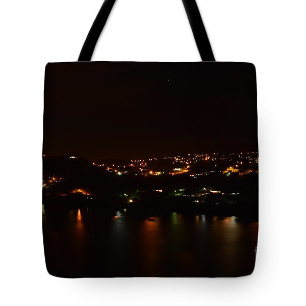 Nightscape Tote Bag by Laura Forde