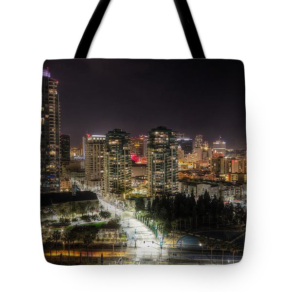 Tote Bag featuring the photograph Nighttime by Heidi Smith