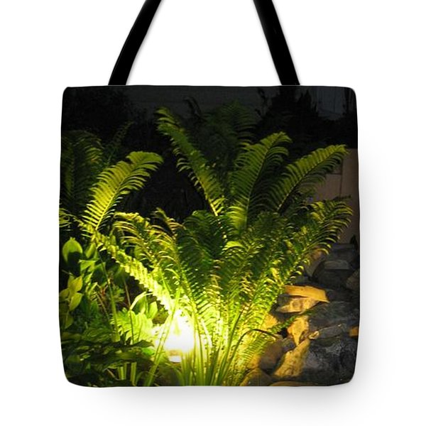 Nighttime Reflection Tote Bag by Debbie Finley