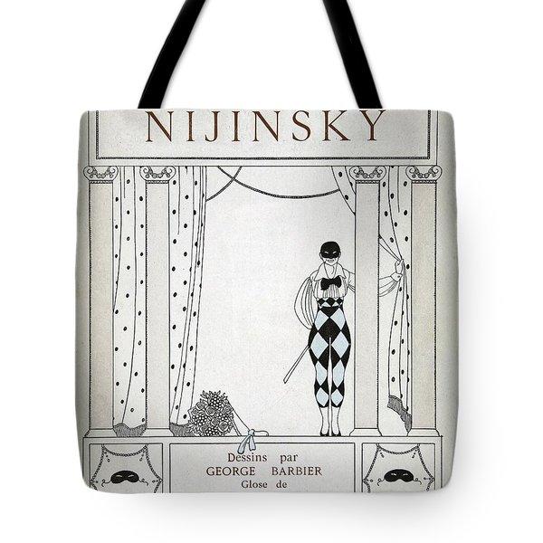 Nijinsky Title Page Tote Bag