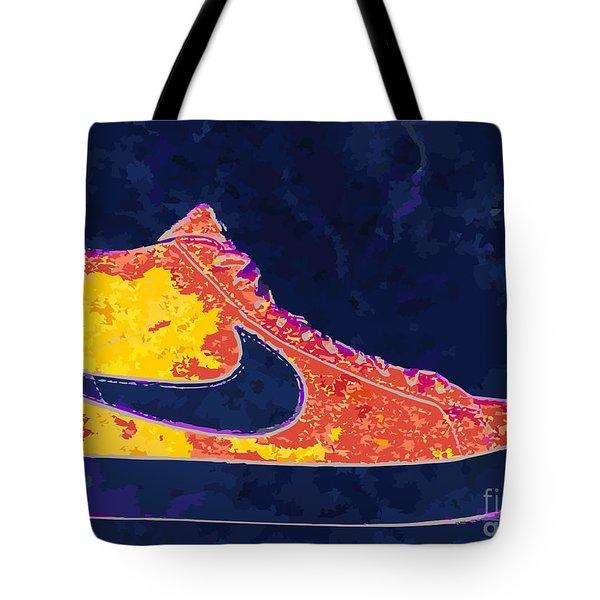 Nike Blazers 4 Tote Bag by Alfie Borg