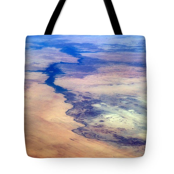 Tote Bag featuring the photograph Nile River From The Iss by Science Source