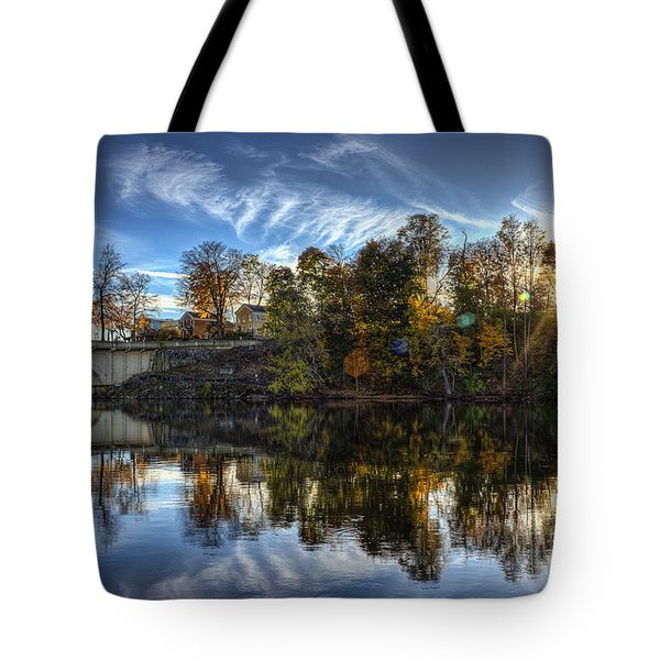 Niles Reflections Tote Bag
