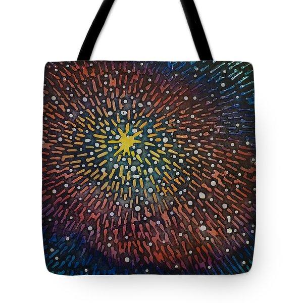 Nimoy Nebula Tote Bag