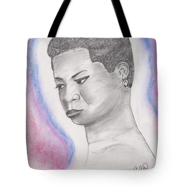 Nina Simone Tote Bag by David Jackson